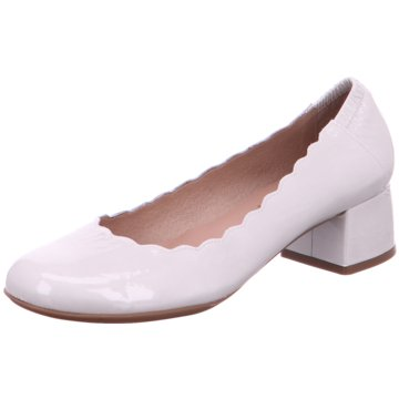 Wonders Flacher Pumps grau
