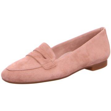 Paul Green Klassischer Slipper rosa