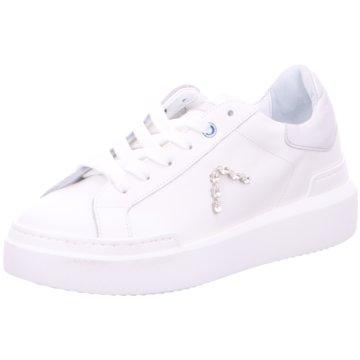 Ed Parrish Plateau Sneaker weiß