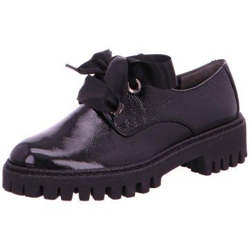 Paul Green Eleganter Schnürschuh schwarz