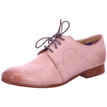 Melvin & Hamilton Eleganter Schnürschuh rosa