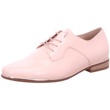 Gabor comfort Eleganter Schnürschuh rosa