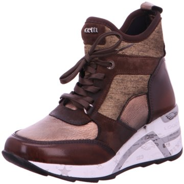 Cetti Sneaker Wedges braun