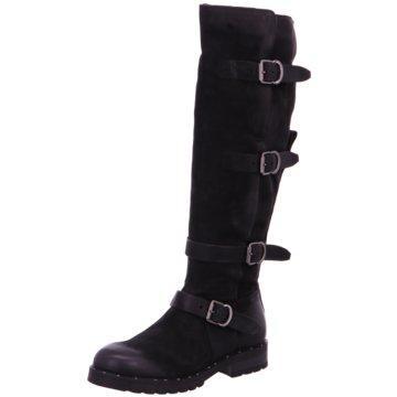 Martina Buraro Klassischer Stiefel schwarz