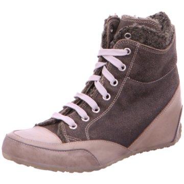 Candice Cooper Sneaker Wedges grau
