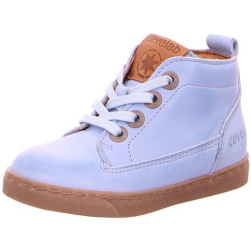 Develab Sneaker High blau