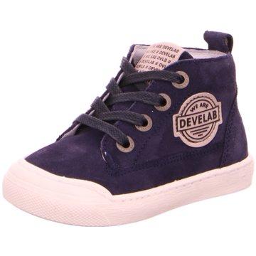 Develab Sneaker High blau