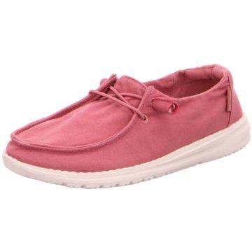 Hey Dude Shoes Mokassin SchnürschuhWendy pink