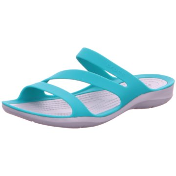 CROCS BadeschuhSwiftwater Sandal W blau