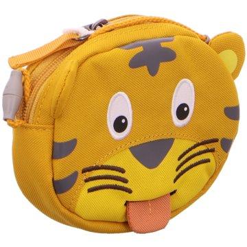 Affenzahn KulturbeutelKinderportemonnaie Tiger beige