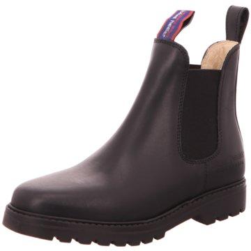 Blue Heeler Chelsea Boot schwarz