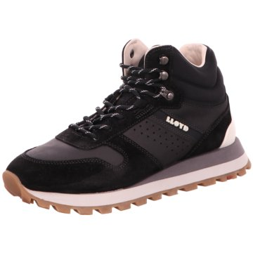 Lloyd Sneaker High schwarz