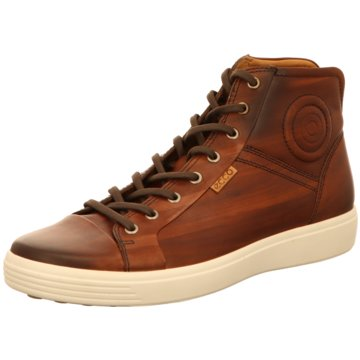 Ecco Sneaker HighSoft 7 Men braun