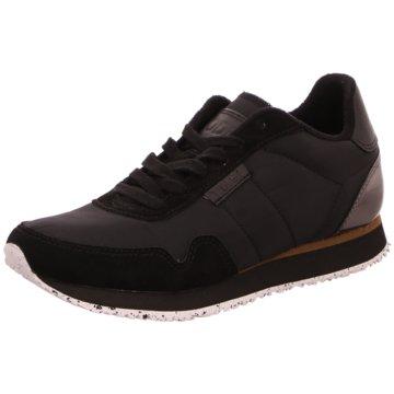 Woden Sneaker Low schwarz