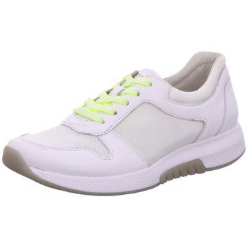 Gabor comfort Sportlicher Schnürschuh weiß