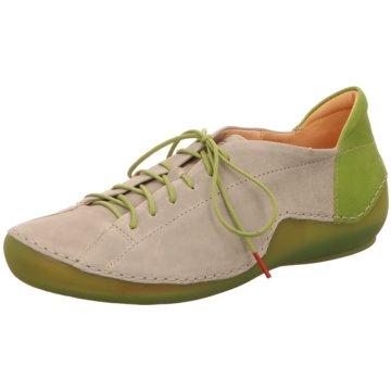 Think Komfort Schnürschuh grün