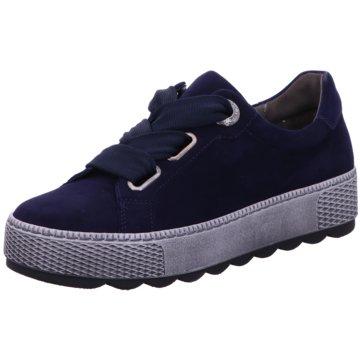 Gabor comfort Sneaker Low blau