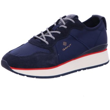 Gant Sportlicher Schnürschuh blau