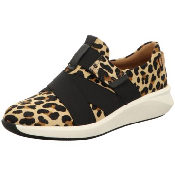 Clarks Sportlicher SlipperSneaker animal