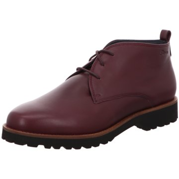 Sioux Komfort Stiefelette rot