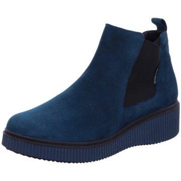 Mephisto Komfort Stiefelette blau