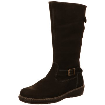 Waldläufer Klassischer Stiefel schwarz