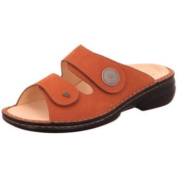 FinnComfort Komfort Pantolette orange