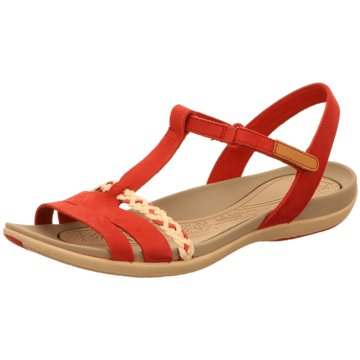 Clarks Komfort SandaleTealite Grace rot
