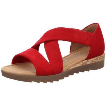 Gabor comfort Komfort SandaleSandale rot