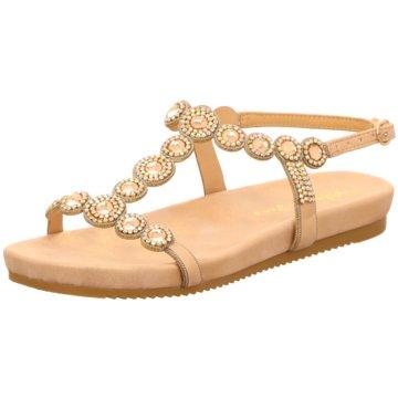Alma en Pena Sandalette gold