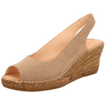 Shabbies Amsterdam Espadrilles Sandalen beige