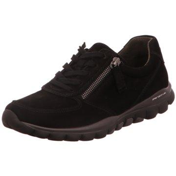 Gabor Sneaker Low schwarz
