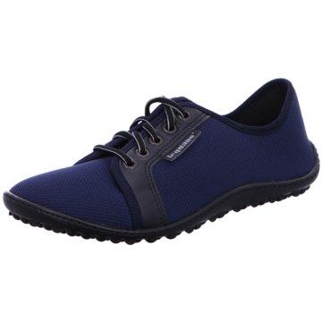 Leguano Sportlicher Schnürschuh blau