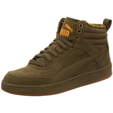 Puma Sneaker High Rebound Street V2 grün