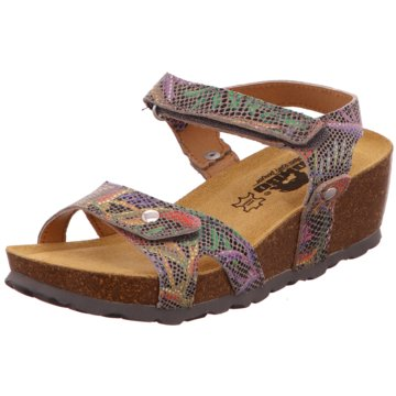 Longo Komfort Sandale bunt