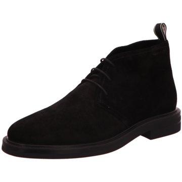 Gant Klassischer Schnürschuh schwarz