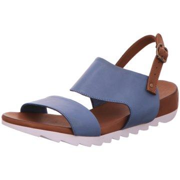 MACA Kitzbühel Sandale blau