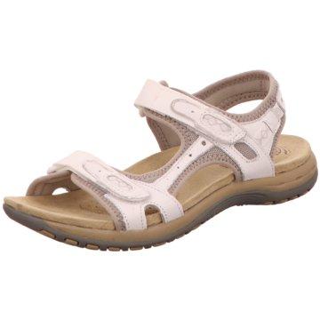 Earth Spirit Komfort Sandale beige