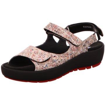Wolky Komfort Sandale rosa