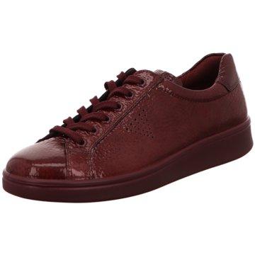 Ecco Sneaker LowSoft 4 rot