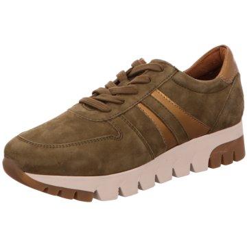 Tamaris Plateau Sneaker grün