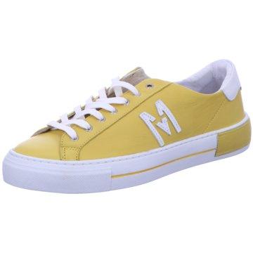 MACA Kitzbühel Sneaker Low gelb