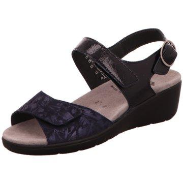 Semler Komfort Sandale blau