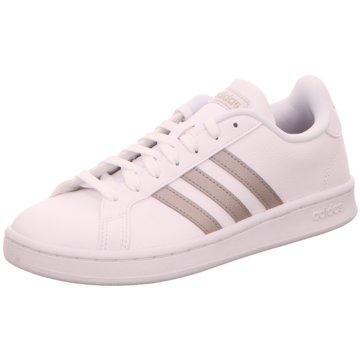 adidas Sneaker LowGRAND COURT - F36485 weiß