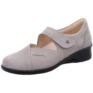 FinnComfort Komfort Slipper grau