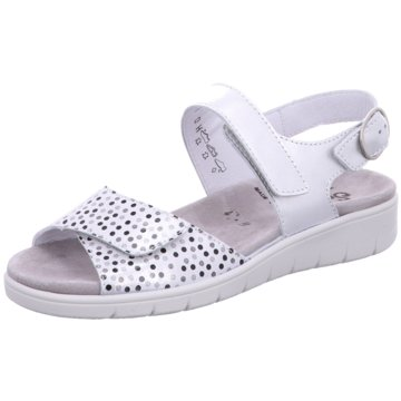 Semler Komfort Sandale silber