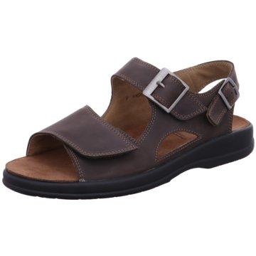 Solidus Komfort Sandale braun