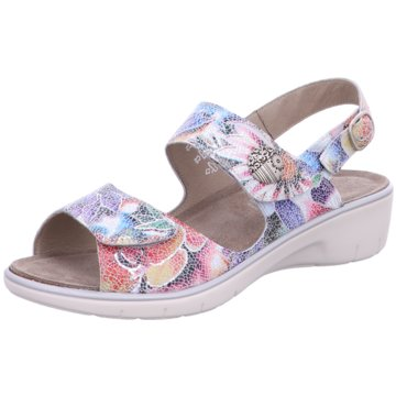 Solidus Komfort Sandale bunt