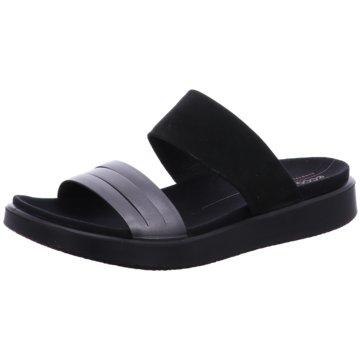 Ecco Komfort Pantolette schwarz