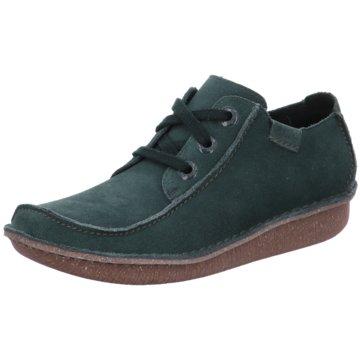 Clarks Komfort Mokassin grün